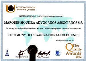 quality awards 2012